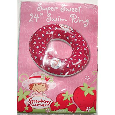 "Strawberry Shortcake Super Sweet 24"" Swim Ring: Toys & Games"