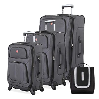 SWISSGEAR 6283 Amazon Exclusive Premium 3pc Spinner Luggage Set