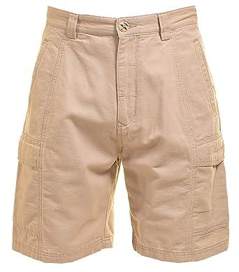 Jachs Mens Cargo Short Khaki 32 Amazoncom