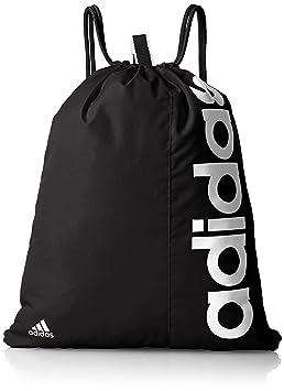 5fe1d9d265 adidas Linear Performance Sac de Sport Mixte Adulte, Noir/Blanc, 37 x 35