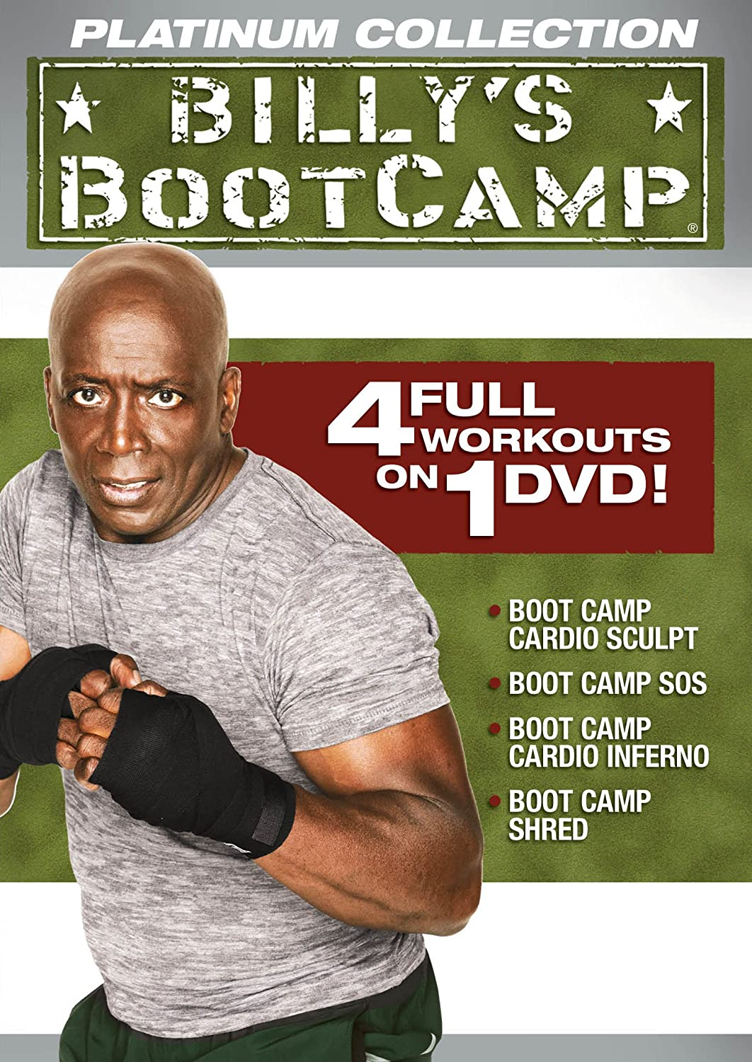 Platinum Collection Bootcamp Billy Blanks Starz / Anchor Bay 33973909 Fitness/Self-Help