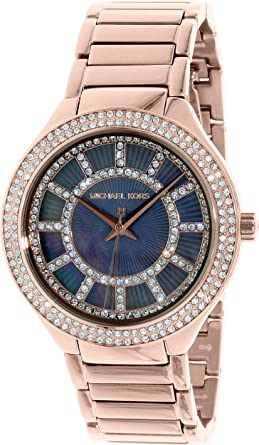 4b03e47838e8 Amazon.com  Michael Kors Women s Watch with Stainless Steel Strap ...
