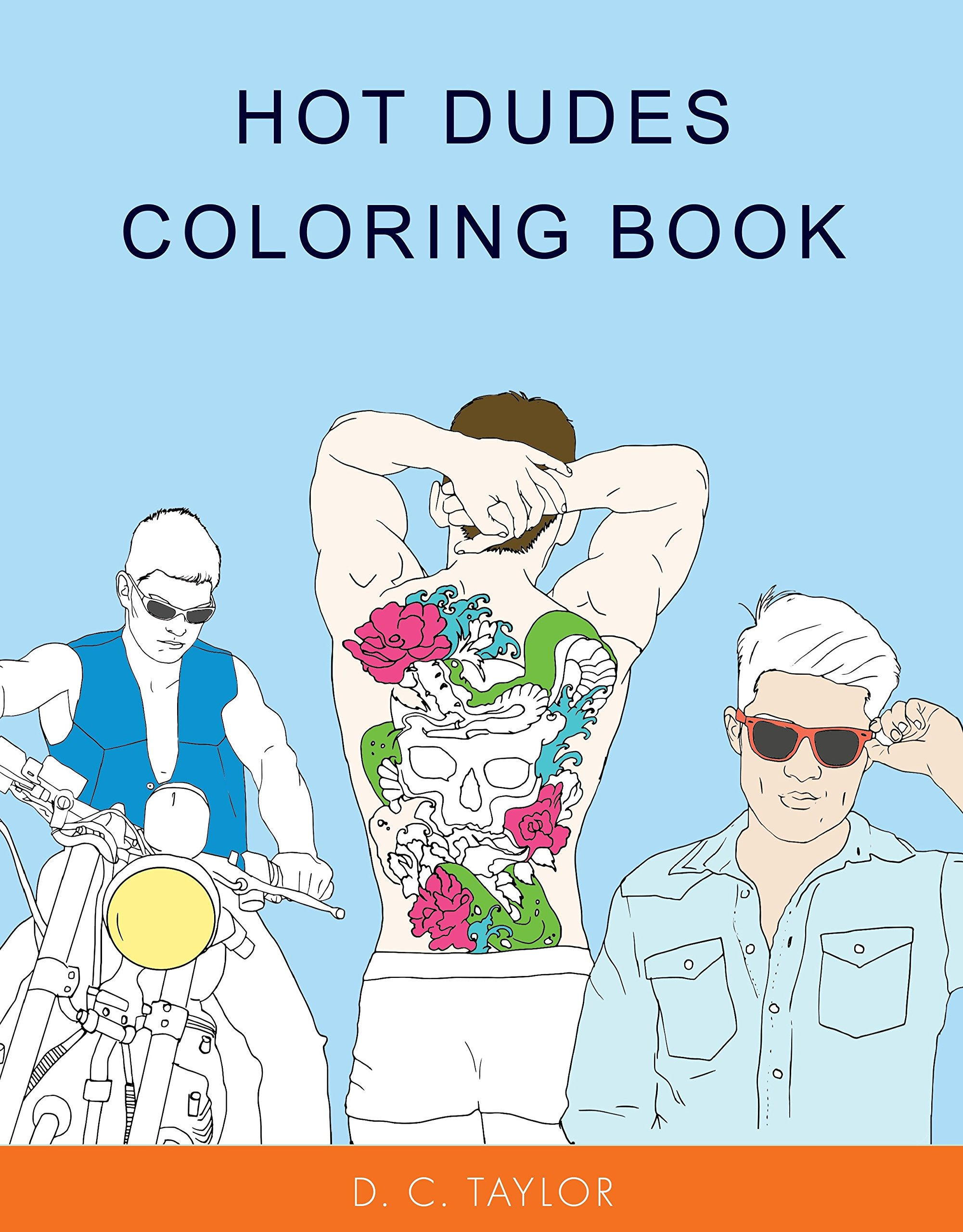Hot Dudes Coloring Book pdf epub