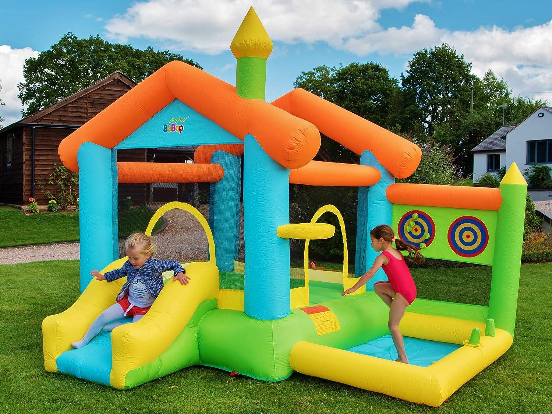 BeBop Bounce House Castillo Hinchable para Niños con Tobogán ...
