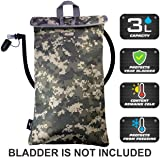 Cooler Bag Protective Sleeve for up to 3L Hydration Water Bladder. Excellent Insulator Keeps Water Cool Protects Your Bladder, Water Resistant Pouch Fits Almost All Backpacks. Bladder NOT