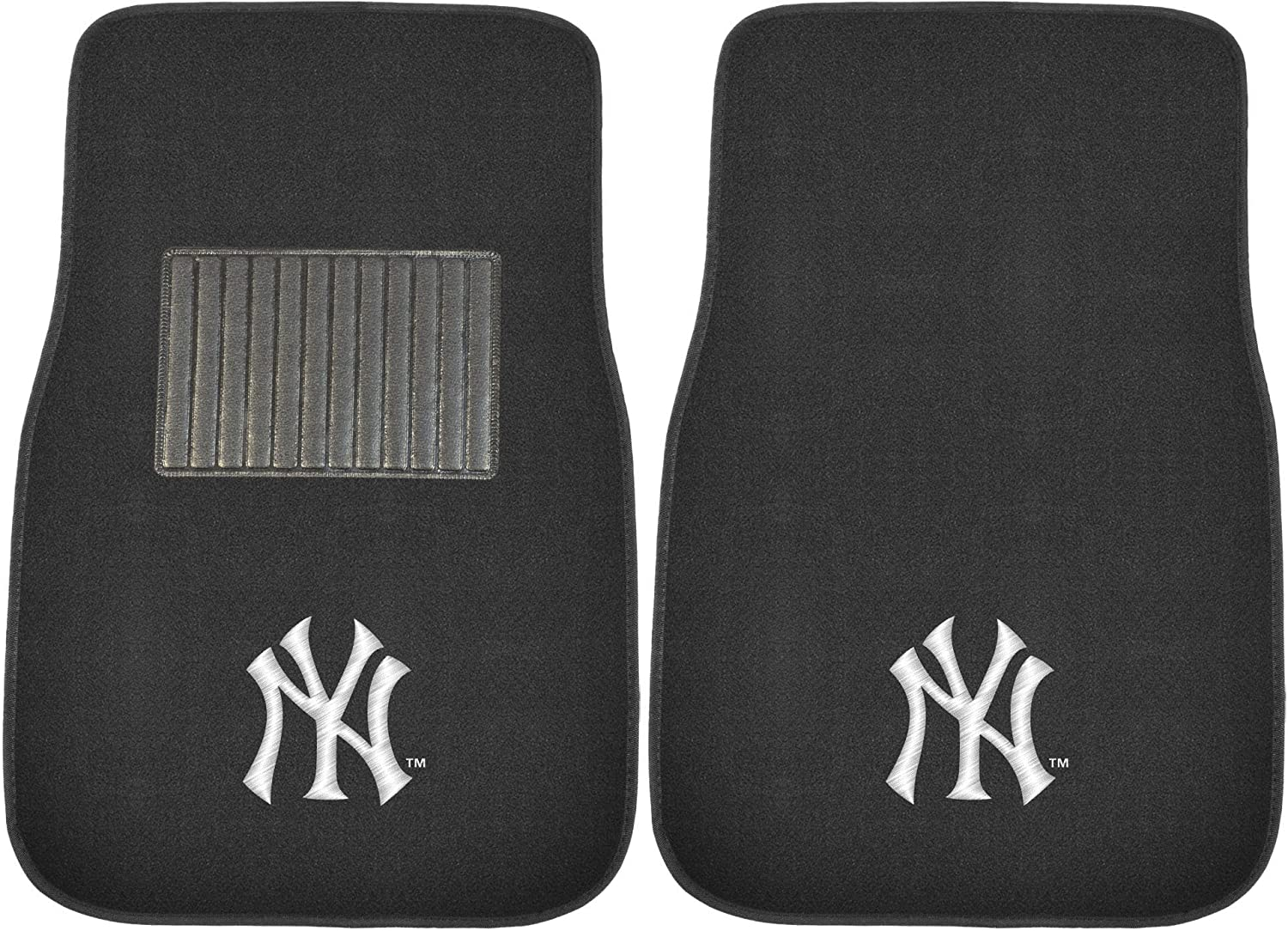 FANMATS MLB Unisex-Adult 2-pc Embroidered Car Mat Set