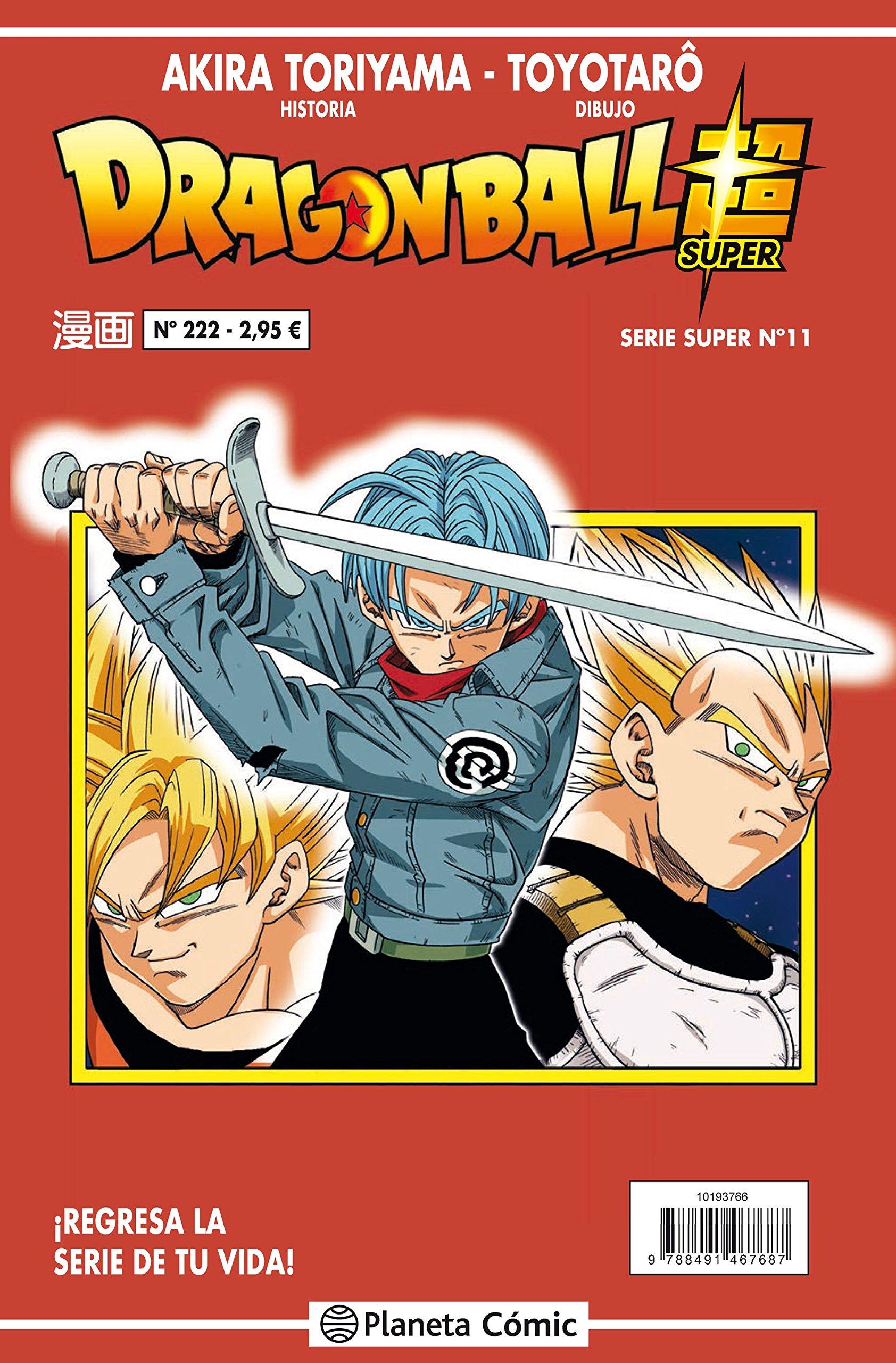Dragon Ball Serie roja nº 222 (Manga Shonen) Tapa blanda – 18 sep 2018 Akira Toriyama Daruma Planeta DeAgostini Cómics 8491731342