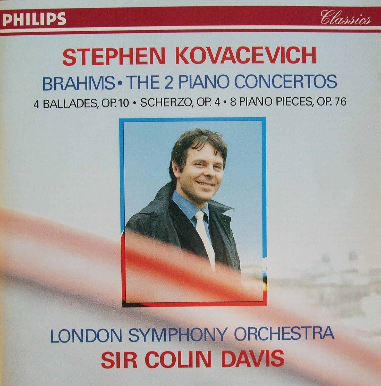 Brahms: Albuquerque Max 76% OFF Mall Piano Concertos 1 Scherzo 2 Ballades