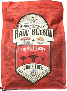 Stella & Chewy'S Raw Blend Red Meat Recipe Kibble 3.5 Lb