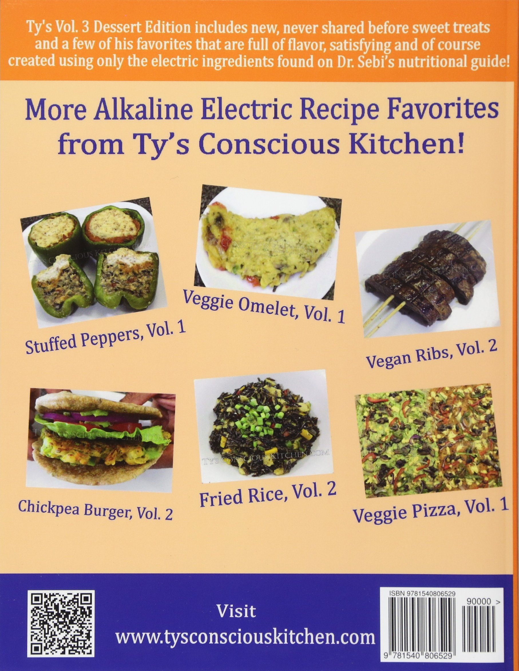 Alkaline Electric Recipes From Ty's Conscious Kitchen: The Sebian