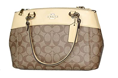 6c38ded648c4 Image Unavailable. Image not available for. Color  COACH MINI BROOKE  CARRYALL IN SIGNATURE CANVAS