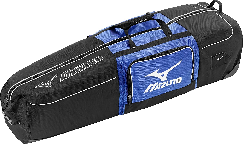 MIZUNO(ミズノ) キャディバッグキャリーケース グローバルシリーズ ユニセックス 5LJT161100 0927(ブラック×ブルー) B01B44V9T6