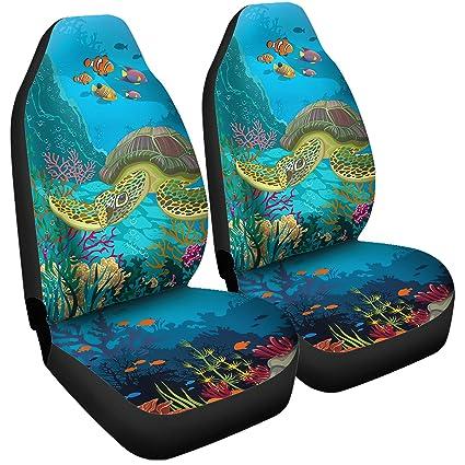 Amazon Gnarly Tees Sea Turtle Car Seat Covers Automotive