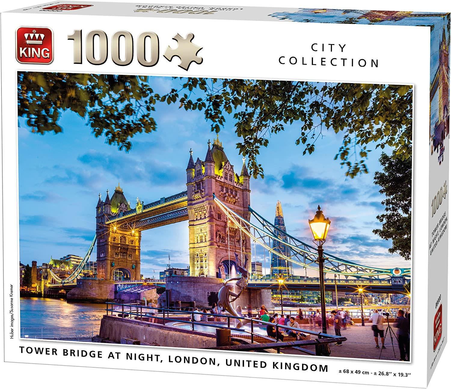 Jigsaw Puzzle 1000 Pieces The Tower