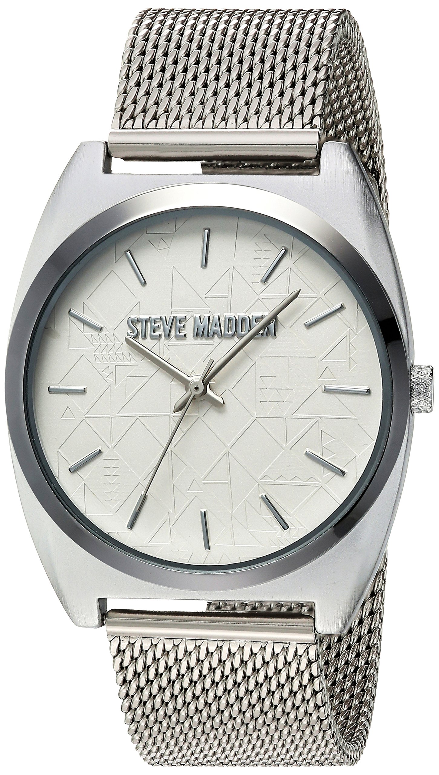 Steve Madden Women's Quartz and Alloy Casual Watch, Color:Silver-Toned (Model: SMW013) by Steve Madden