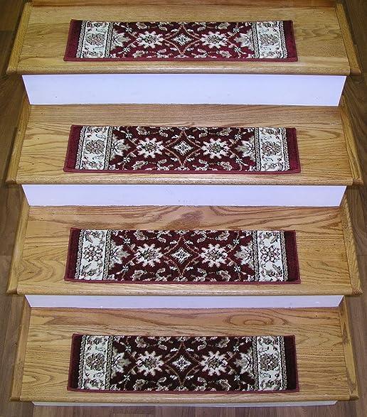 149698   Rug Depot Premium Carpet Stair Treads   Set Of 13 Stair Treads  26u0026quot;