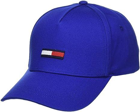 Tommy Jeans Unisex adulto Flag Gorra de béisbol Azul (Nautical Blue 483) Talla única (Talla del fabricante: OS): Amazon.es: Ropa y accesorios