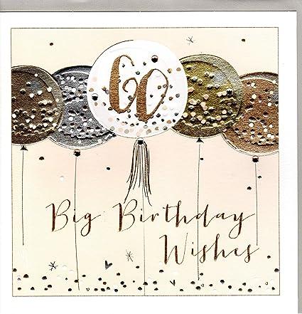 Belly Button Designs - Tarjeta de felicitación de 60 ...