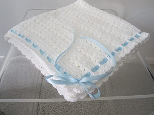 custom ribbon blanket Baby blanket sensory blanket