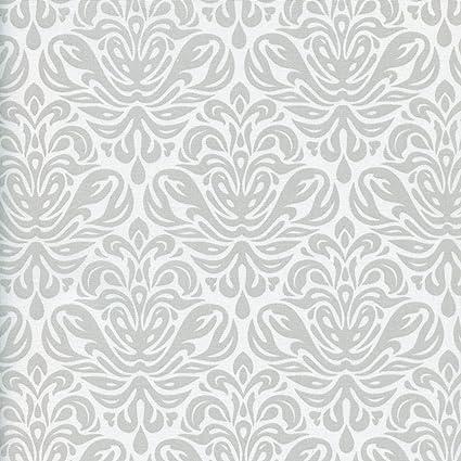 Tessuto Grandezza Grigio Chiaro Perlato Sfondo Bianco Perla 100
