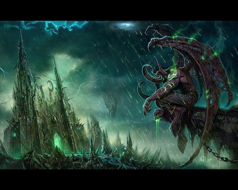 Amazoncom World Of Warcraft Wow Illidan Wall Poster 1 Print Art