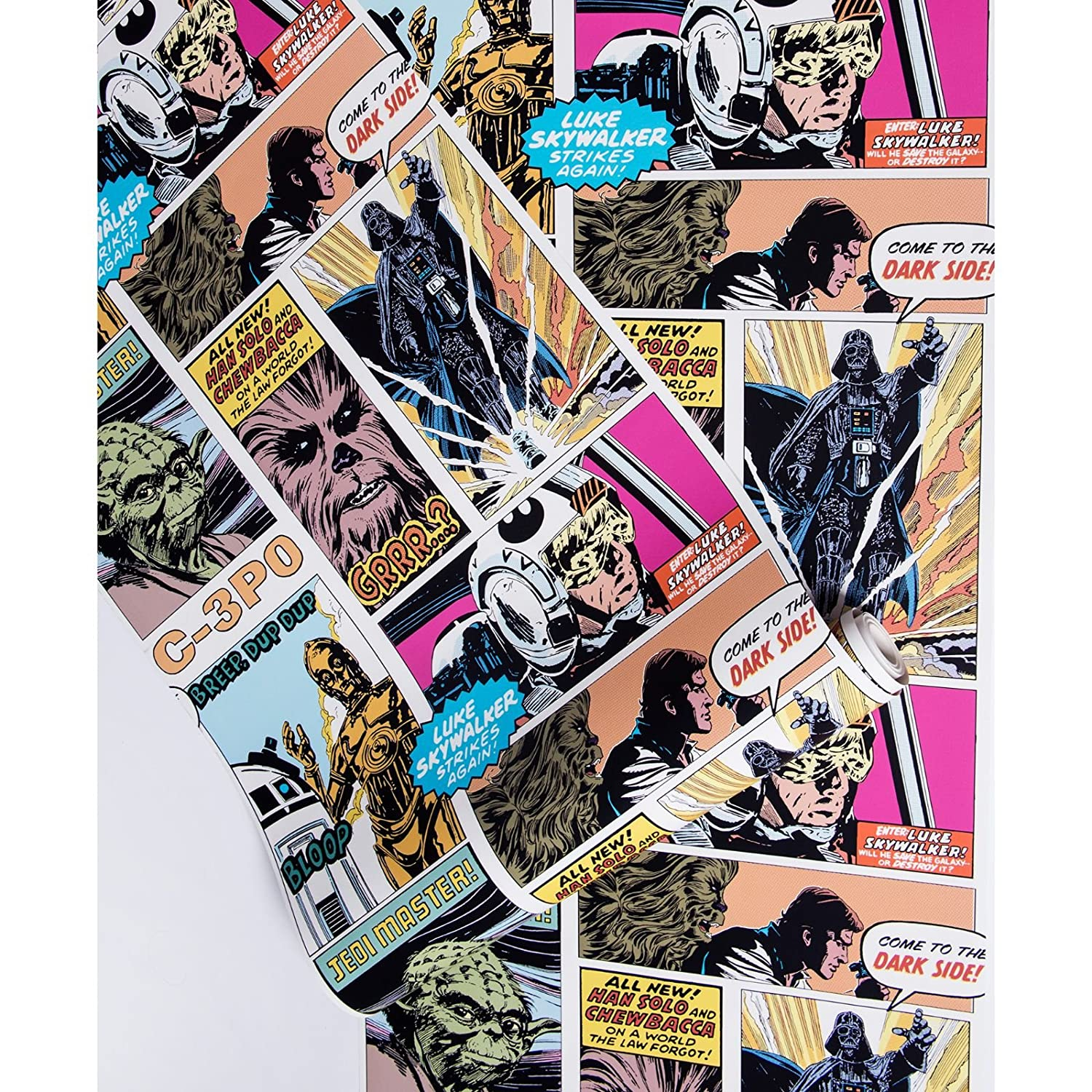 Star Wars Pop Art Collage Wallpaper Amazoncouk DIY Tools