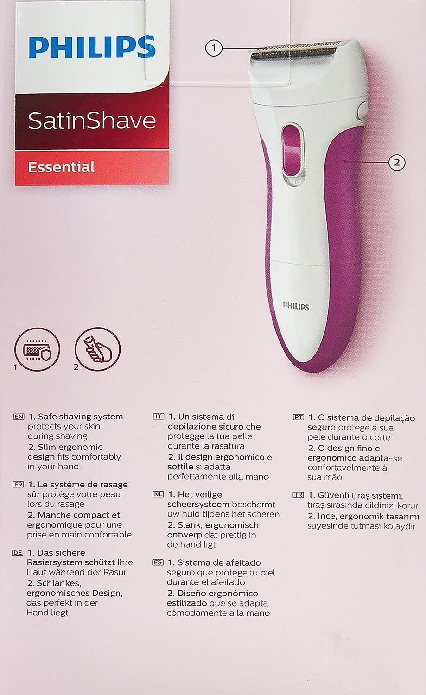 Philips HP6341/02 maquinilla de afeitar para mujer Blanco 1 ...