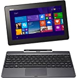 ASUS T100 2 in 1 10.1 Inch Laptop (Intel Atom, 2 GB, 64GB SSD, Gray)