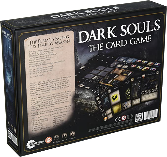 Juego de cartas Dark Souls The Card Game, de Steamforge Games ...