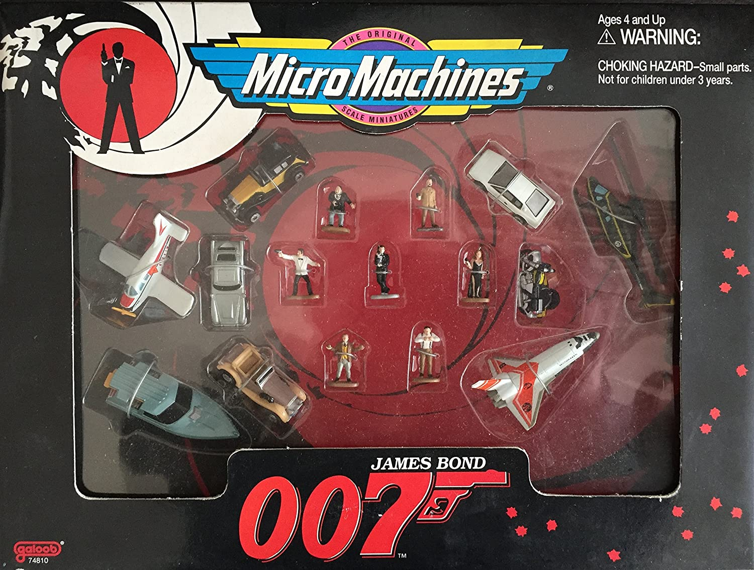 James Bond 007 Micro Machines Collector Set