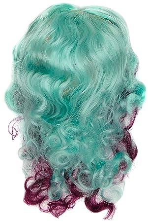 Joker JC035-001 - para siempre alta Madeline Hatter Peluca, azul y púrpura