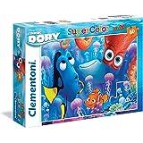 Clementoni 26582 - Puzzle Maxi Finding Dory, 60 Pezzi