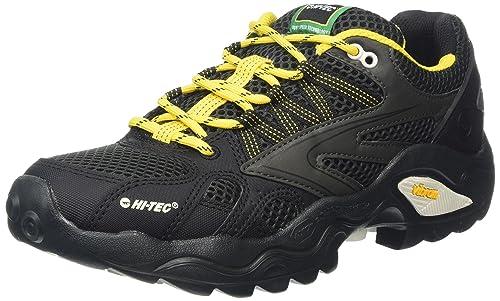 V-Lite Flash Force I, Zapatos de Low Rise Senderismo para Hombre, Gris (Grey (Charcoal/Black/Sunray 052) Charcoal/Black/Sunray 052), 41 EU Hi-Tec