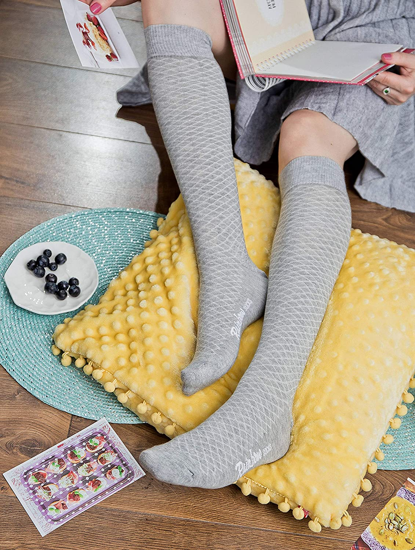 Donna Gambaletti Traforati di Cotone Rainbow Socks