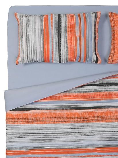Copripiumino Gabel Piazza E Mezza.Gabel Stripes Completo Copripiumino V 009 Una Piazza E Mezza