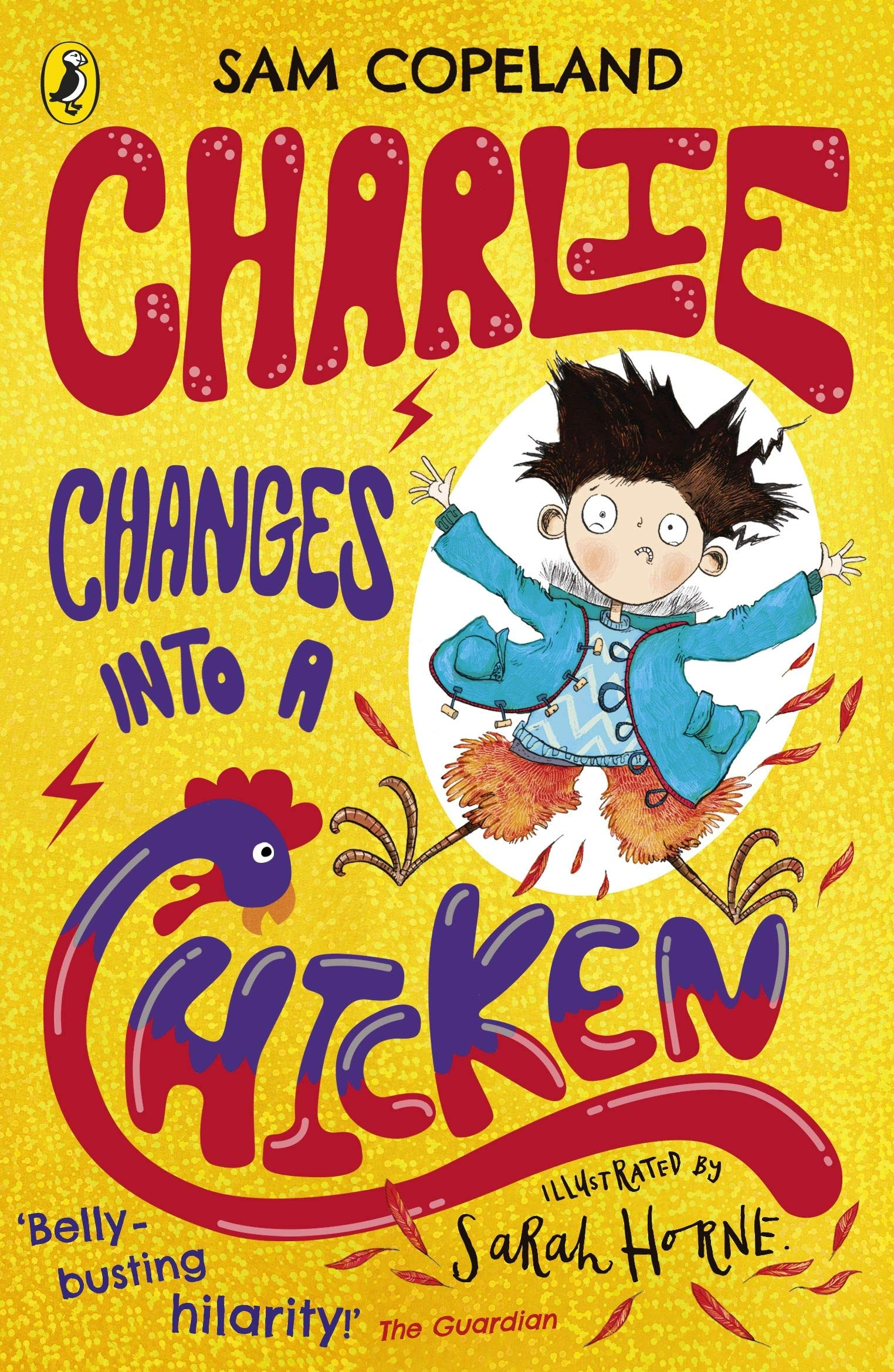Image result for charlie changes into a chicken