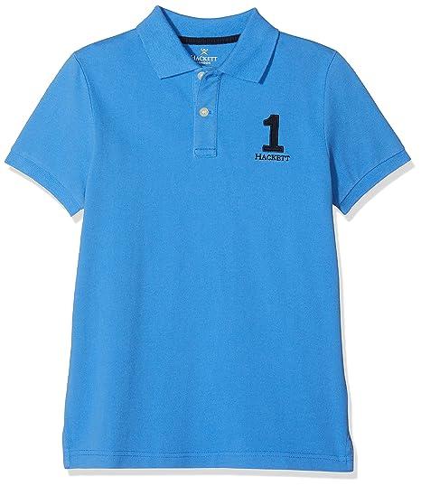 Hackett London New Classic Polo, Azul, 11 Años para Niños: Amazon ...