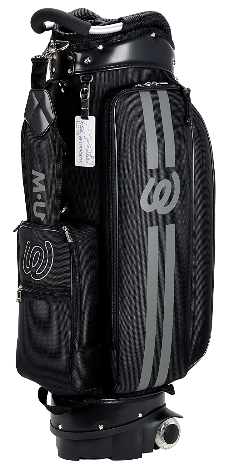 MU Sports Wheeled Golf Cart Bag, 703V7155 Black