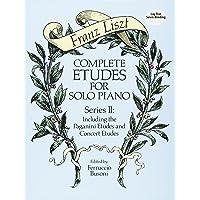 COMP ETUDES FOR SOLO PIANO SER (Dover Music