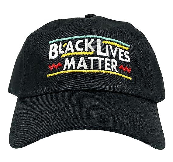 802b1f2ce8 Molosof Black Lives Matter Hat 90s Dad Hat Fist Baseball Cap Embroidered  Adjustable (Black)