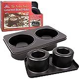 The Original Better Baker Edible Food Bowl Maker- Bake 2 Five Inch Dessert & Dinner Bowls or Mini Muffins