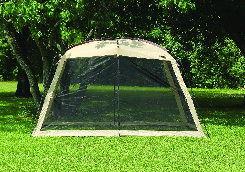 Amazon.com: Texsport Wayford 12u0027 X 9u0027 Portable Mesh Screenhouse Arbor  Canopy For Backyard And Camping: Sports U0026 Outdoors