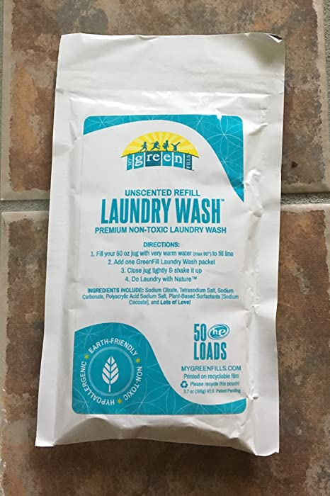 My Greenfills Laundry Soap - Unscented Pack