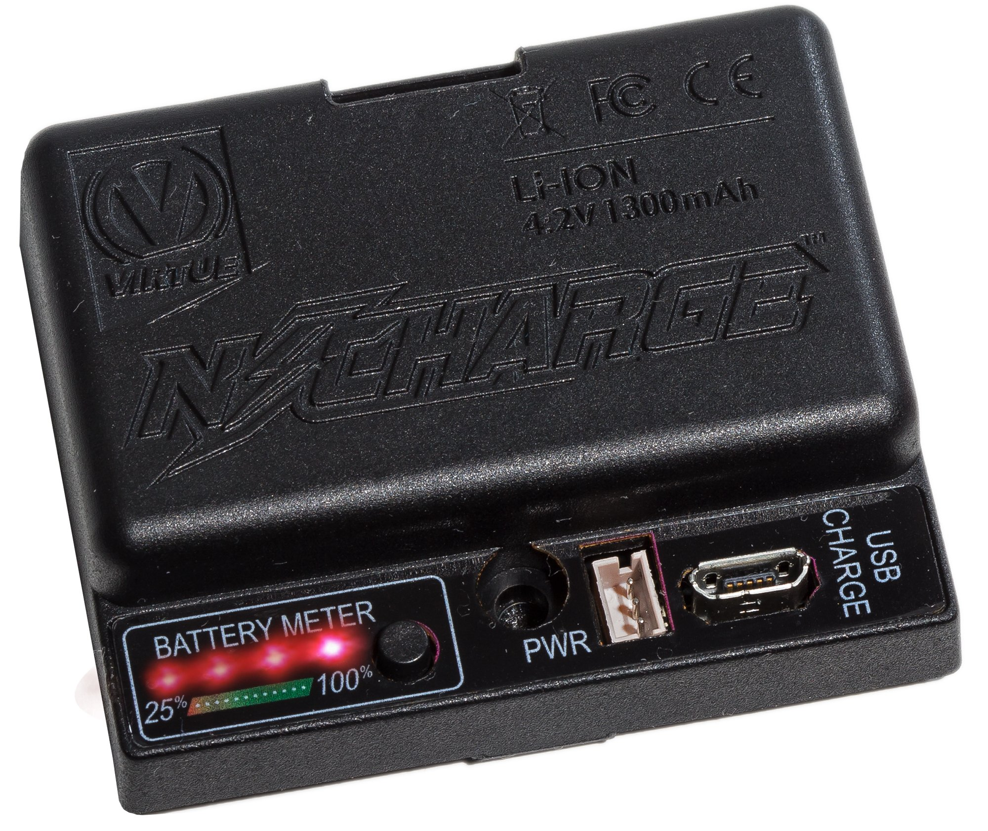 Virtue Paintball N-Charge Lithium Ion Rechargeable Hopper/Loader Battery Pack - Fits All Spires and Rotors by Virtue Paintball