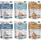 The Original Cannoli Chips, 6, 5.1oz Bags/Case (Mixed 6 Pack) - 2 Powdered Sugar, 2 Cinnamon Sugar, 2 Cookies & Cream