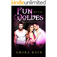 Fun With Wolves (Twin Werewolf Menage Romance Book 1)