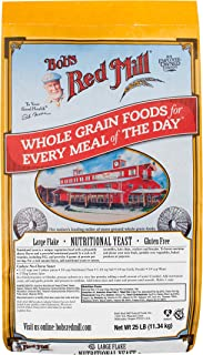 product image for Bob's Red Mill Gluten Free Large Flake Nutritional Yeast, 25 Pound