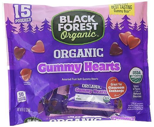Black Forest - Corazones orgánicos para goma, varios sabores ...