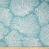 Magnolia Home Fashions Ariel Ocean Fabric By The Yard