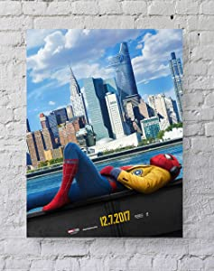 MeiMeiZ Spiderman Homecoming Poster Standard Size | 18-Inches by 24-Inches | Spiderman Posters Wall Poster Print